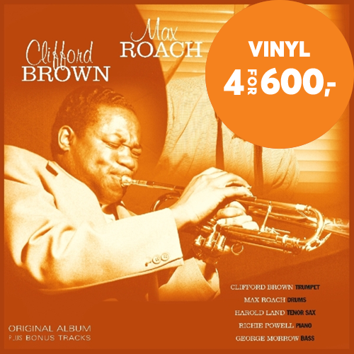 Clifford Brown & Max Roach (VINYL)