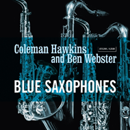 Produktbilde for Blue Saxophones (VINYL)