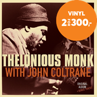 Produktbilde for Thelonious Monk With John Coltrane (VINYL)