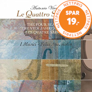 Produktbilde for Vivaldi: Le Quattro Stagioni (Four Seasons) (VINYL)