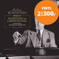 Produktbilde for Arthur Rubinstein - Highlights From Rubinstein At Carnegie Hall 1961 (VINYL)
