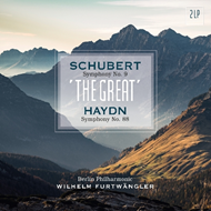 "Produktbilde for Schibert: Symphony No. 9 ""The Great""/Haydn: Symphony No. 88 (VINYL - 2LP)"