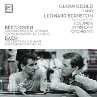 Glenn Gould Plays Beethoven Concerto No. 2 And Bach Concerto No. 1 (VINYL)