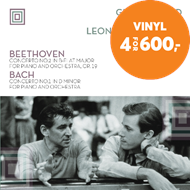 Produktbilde for Glenn Gould Plays Beethoven Concerto No. 2 And Bach Concerto No. 1 (VINYL)