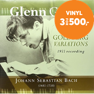 Produktbilde for Glenn Gould - Bach: The Goldberg Variations (1955 Recording) (VINYL)