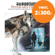 Produktbilde for Leonard Bernstein - Prokofiev: Peter And The Wolf / Violin Concerto No. 2 (VINYL)