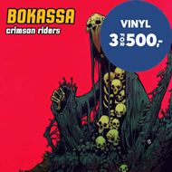 Produktbilde for Crimson Riders (VINYL - Colored)