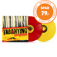 Produktbilde for The Tarantino Experience - Limited Edition (USA-import) (VINYL - 2LP - Coloured)