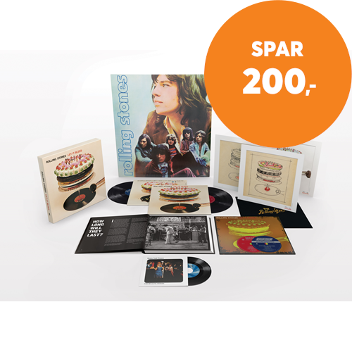 "Let It Bleed - 50th Anniversary Deluxe Edition - Stereo & Mono (VINYL - 2LP + 2SACD-Hybrid + 7"" + BOK + Poster)"