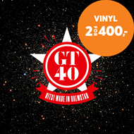 Produktbilde for GT40 Hits! - Made In Halmstad (VINYL - 2LP)