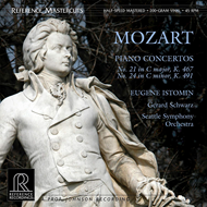 Produktbilde for Mozart: Piano Concertos Nos. 21 & 24 (Reference Recordings) (VINYL - 2LP - 200 gram)