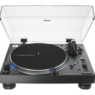 Produktbilde for Audio-Technica AT-LP140XP - Direct-Drive Professional DJ Turntable - Sort (PLATESPILLER)