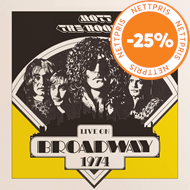 Produktbilde for Live On Broadway 1974 (VINYL - 2LP)