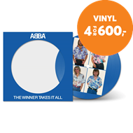 "Produktbilde for The Winner Takes It All - Limited Edition (VINYL - 7"" - Picture Disc)"