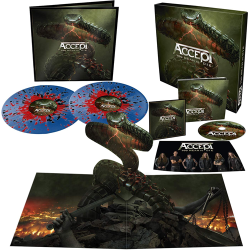 Too Mean To Die - Limited Box Set Edition (VINYL - 2LP + CD)