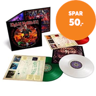 Produktbilde for Nights Of The Dead - Legacy Of The Beast, Live In Mexico City - Limited Edition (VINYL - 3LP - Coloured)