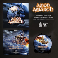 Produktbilde for Warriors Of The North - Limited Edition (VINYL - Picture Disc (Shaped))