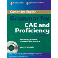 Cambridge Grammar for CAE and Proficiency with Answers and Audio CDs (2) (LYDBOK)