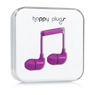 Happy Plugs - In-Ear Purple (HEADSET)