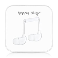 Happy Plugs - In-Ear White (HEADSET)