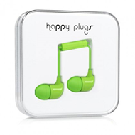 Happy Plugs - In-Ear Green (HEADSET)