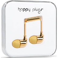 Happy Plugs - In-Ear Gold (HEADSET)