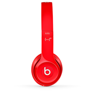 Beats - Solo2 On-Ear Red (HEADSET)