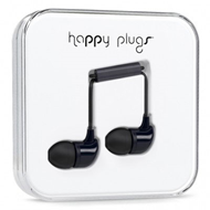 Happy Plugs - In-Ear Black (HEADSET)