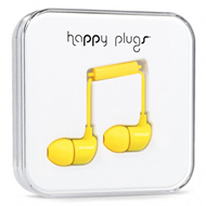 Happy Plugs - In-Ear Yellow (HEADSET)