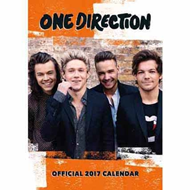 2017 Official Calendar -  One Direction A3 Veggkalender (KALENDER)