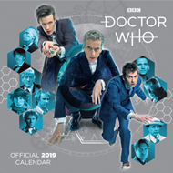 2019 Calendar:  Doctor Who Classic Edition - Square (KALENDER)