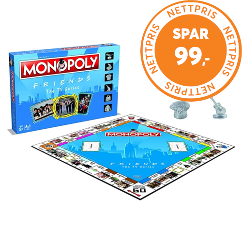 Friends Monopoly Board Game (UK-import) (MERCH)