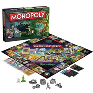 Produktbilde for Rick And Morty Monopoly Board Game (UK-import) (MERCH)