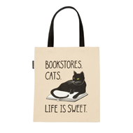 Produktbilde for Bookstore Cats (UK-import) (TOTE BAG)