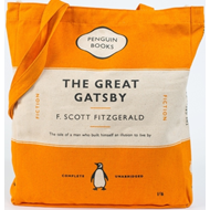 The Great Gatsby - Orange (TOTE BAG)