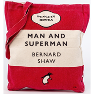 Produktbilde for Man And Superman - Red (UK-import) (TOTE BAG)