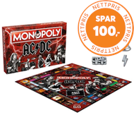 Produktbilde for AC/DC Monopoly Board Game (UK-import) (MERCH)