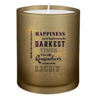 Produktbilde for Harry Potter: Turn On The Light Glass Candle (UK-import) (MERCH)