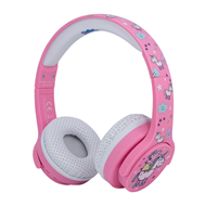 Produktbilde for PEPPA GRIS Hodetelefon For Barn - Trådløs - Rosa Unicorn (HEADSET)