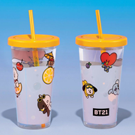 Produktbilde for BT21 - Cup And Straw (KOPP)