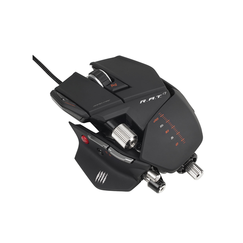 Mad Catz R.A.T.7 Gaming Mouse - Matte black