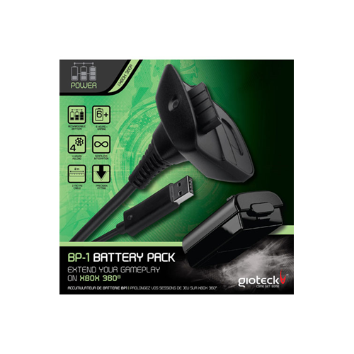 Gioteck XB360 Rechargeable Battery Pack