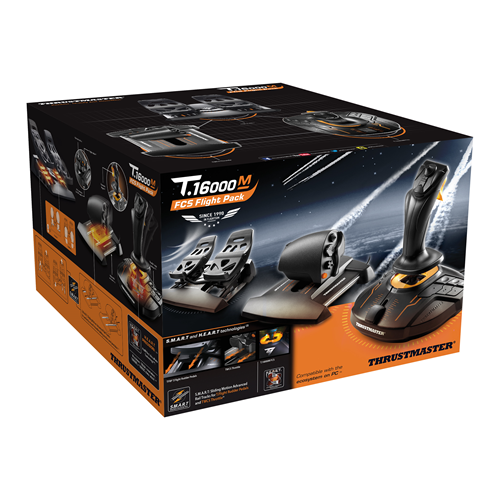 Thrustmaster T16000m Flight Pack