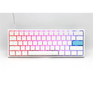 Produktbilde for Ducky - One 2 Mini Pure White Cherry Silent Red RGB - Gamingtastatur
