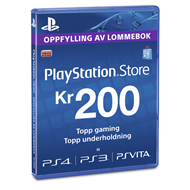 Produktbilde for PSN Livecard 200kr