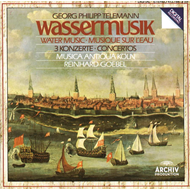 Produktbilde for Telemann: Water Music; Concertos (CD)