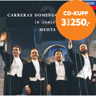 Produktbilde for The Three Tenors In Concert (CD)