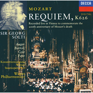Produktbilde for Mozart: Requiem (UK-import) (CD)
