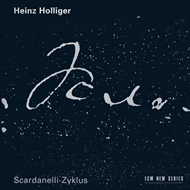 Produktbilde for Holliger: Scardanelli-Zyklus (CD)