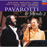 Produktbilde for Pavarotti and Friends II (UK-import) (CD)